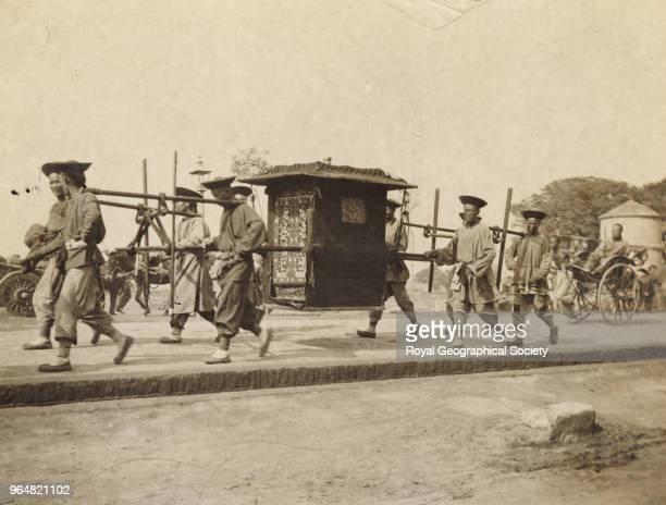 Peking officials' chair China 1907
