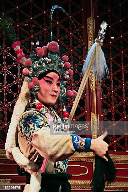 Peking Opera is not for everyone but the costumes action and movements of the actors are a treat Often performed at teahouses rather than theatres...