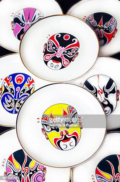 Peking Opera Plates