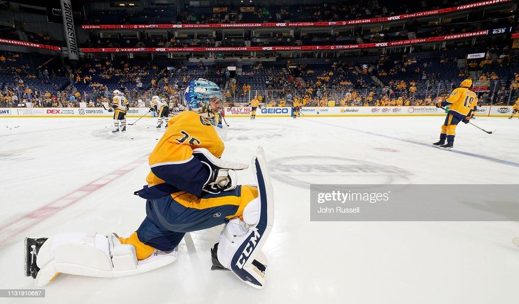TN: Pittsburgh Penguins v Nashville Predators