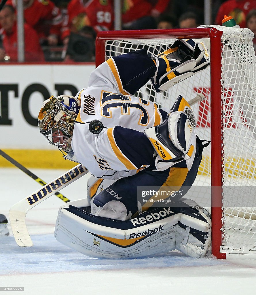 Nashville Predators v Chicago Blackhawks - Game Three