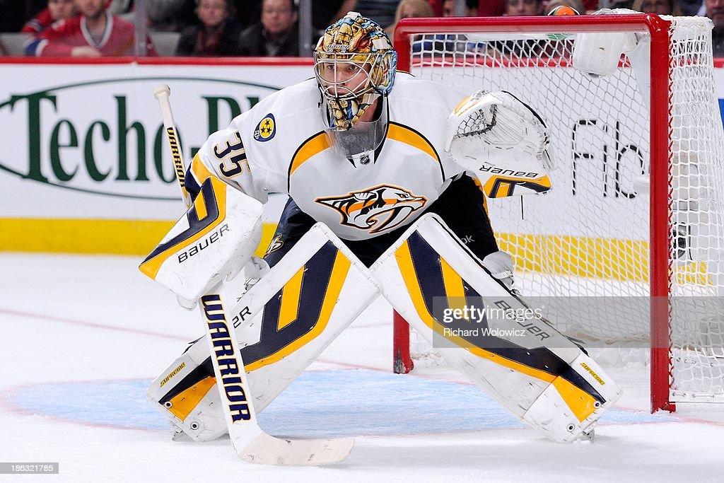 Nashville Predators v Montreal Canadiens : News Photo