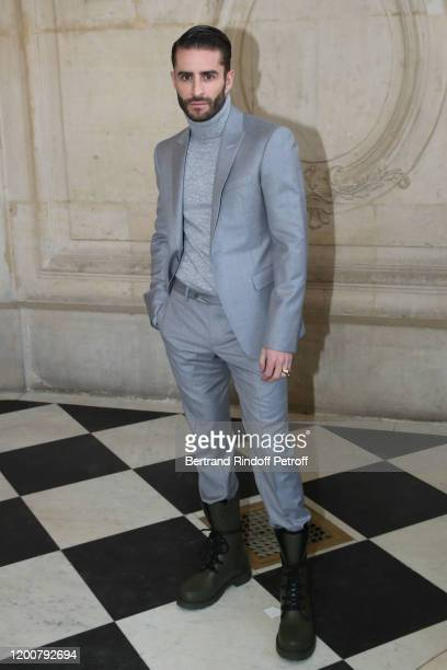 Pelayo Diaz attends the Dior Haute Couture Spring/Summer 2020 show as part of Paris Fashion Week on January 20, 2020 in Paris, France.