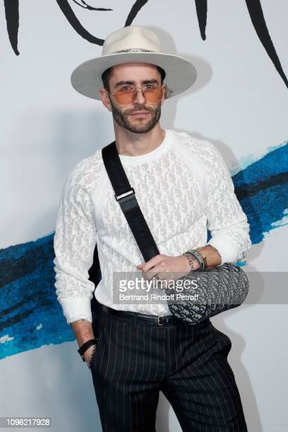 Pelayo Diaz attends the Dior Homme Menswear Fall/Winter 20192020 show as part of Paris Fashion Week on January 18 2019 in Paris France
