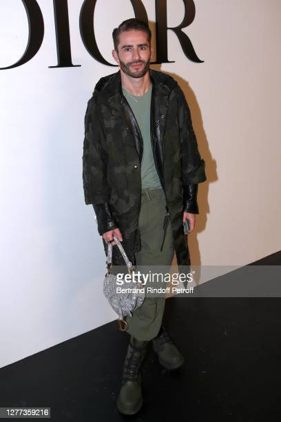 Pelayo Diaz attends the Dior Womenswear Spring/Summer 2021 show as part of Paris Fashion Week on September 29, 2020 in Paris, France.