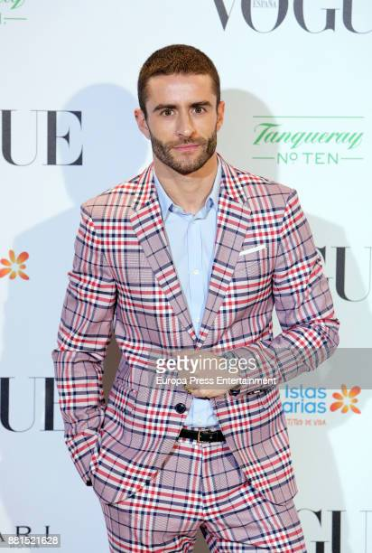 Pelayo Diaz attends the gala dinner tribute to Manolo Blahnik on the ocassion of the exhibition 'Manolo Blahnik El Arte del Zapato' on November 28...