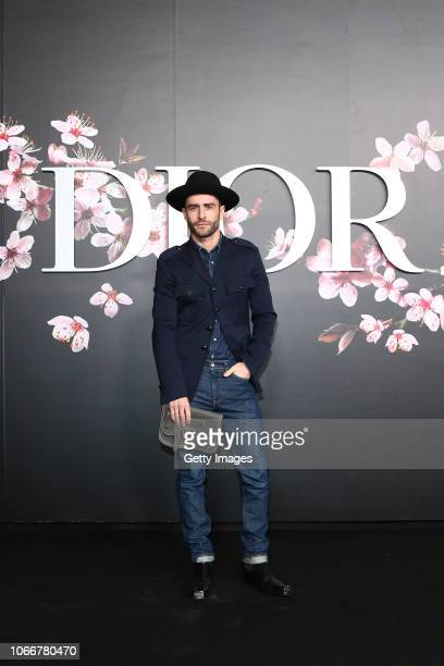 Pelayo Diaz attends the photocall at the Dior Pre Fall 2019 Men's Collection on November 30, 2018 in Tokyo, Japan.