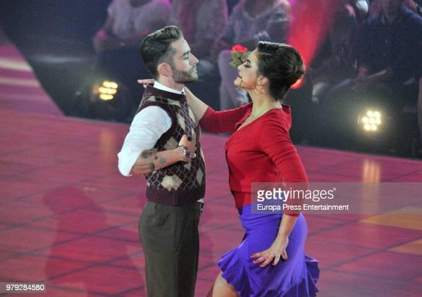 Pelayo Diaz during 'Bailando con las estrellas' TVE programme on June 19 2018 in Barcelona Spain
