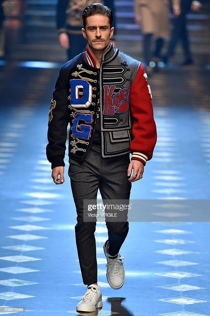 Dolce & Gabbana - Runway - Milan Men's Fashion Week Fall/Winter 2017/18