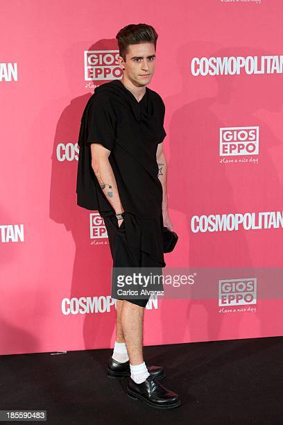 Pelayo Diaz Zapico attends the Cosmopolitan Fun Fearless Female Awards 2013 at the Ritz Hotel on October 22 2013 in Madrid Spain