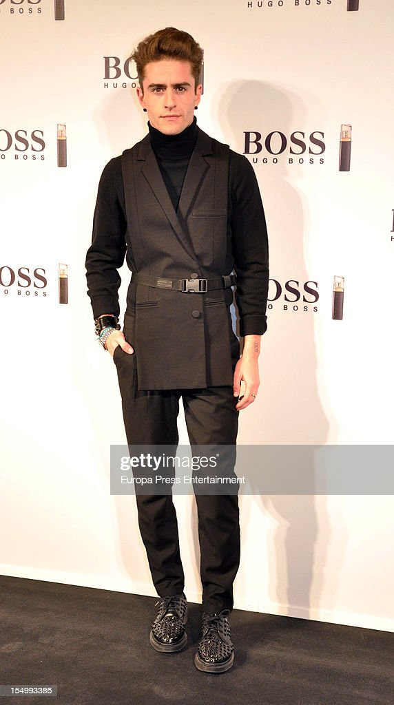 Pelayo Diaz Zapico attends the launch of 'Boss Nuit Pour Femme' fragrance on October 29, 2012 in Madrid, Spain.
