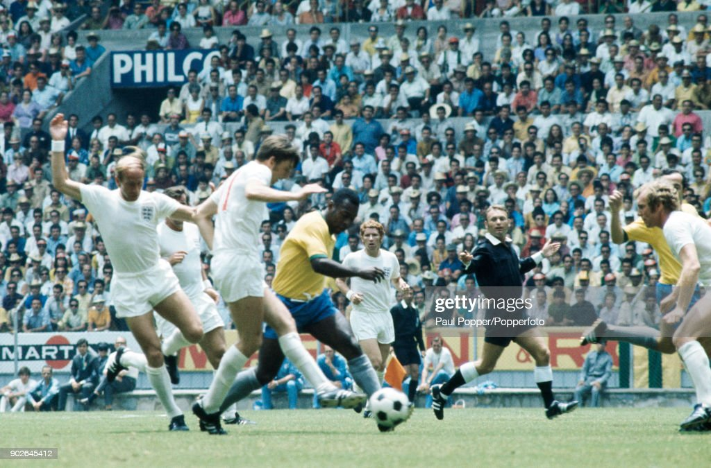 1970 FIFA World Cup - Brazil v England : Fotografía de noticias