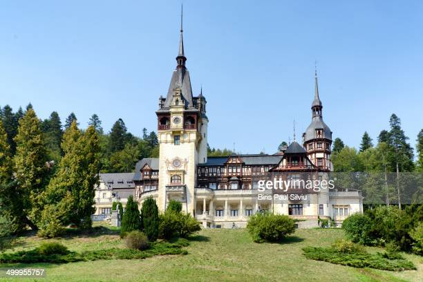 Peles Castle is a Neo-Renaissance castle in the Carpathian Mountains, near Sinaia Peles Castle used to be the Romanian Royalty's Summer residence and...