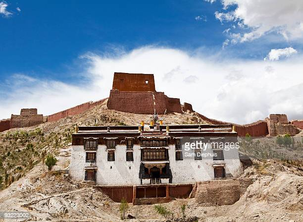 pelkhor chode monastery - chode picture stock photos and pictures