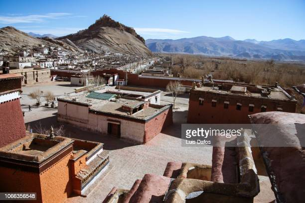 pelkor chode monastery, gyantse - chode images stock photos and pictures