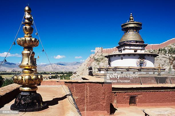 pelkor chode monastery - chode picture stock photos and pictures