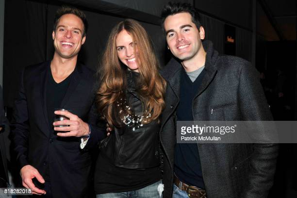 JD Pell Elissa Lumley and Andrew Freesmeier attend Closing Party for Bryant Park Tents at Bryant Park on February 18 2010 in New York City