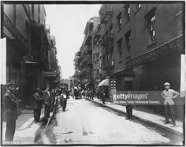 Pell Street Chinatown New York New York 1895