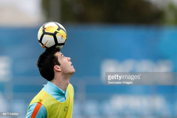 Pelle Clement of Holland U21 during the Training Holland U21 at the Ciutat Esportiva Dani Jarque on March 25 2018 in Mataro Spain