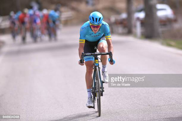 Pello Bilbao of Spain and Astana Pro Team / during the 42nd Tour of the Alps 2018 Stage 1 a 1346km stage from Arco to Folgaria 1160m on April 16 2018...