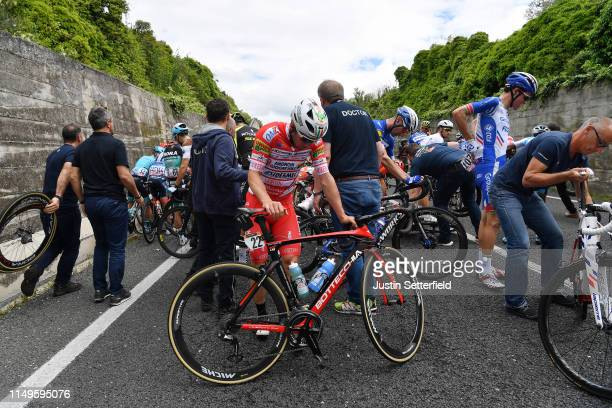 Pello Bilbao of Spain and Astana Pro Team / Juan Jose Lobato of Spain and Team Nippo Vini Fantini - Faizane / Michael Schwarzmann of Germany and Team...