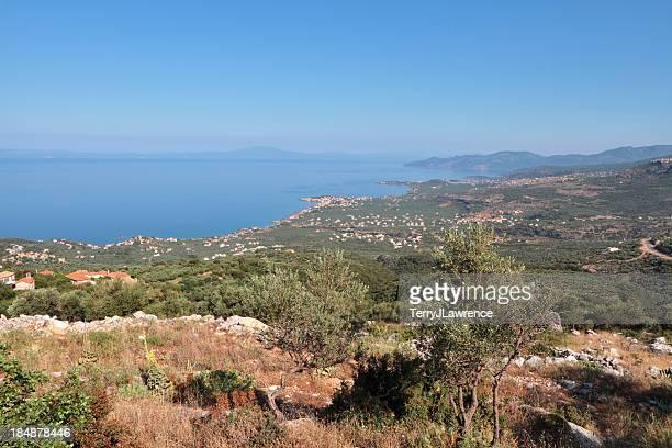 Peloponnese Coastline, The Mani Region, Greece