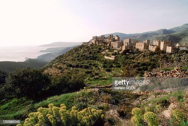 Peloponnese Greece The Magne Vathia