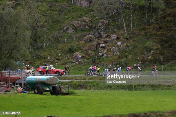 Peloton / Crash / during the 9th Tour of Norway 2019 Stage 1 a 1682km stage from Stavanger to Egersund / @tourofnorway / #TourOfNorway / on May 28...