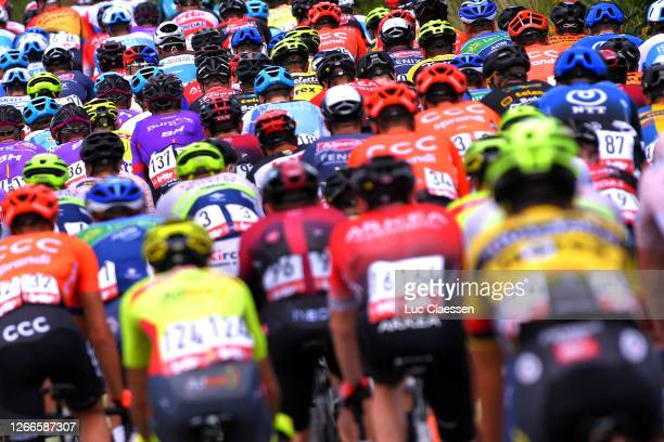 Peloton / Detail view / during the 41st Tour de Wallonie 2020, Stage 1 a 187km stage from Soignies to Templeuve / @TourdeWallonie / #TRW2020 / on...