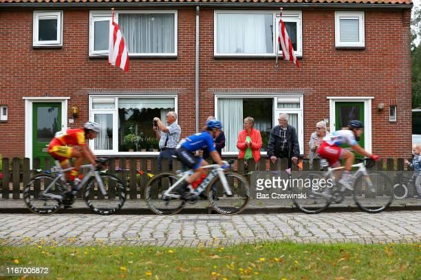 Peloton / Fans / Public / during the 25th UEC Road European Championships 2019 - U23 Women's Road Race a 92km race from Alkmaar to Alkmaar /...