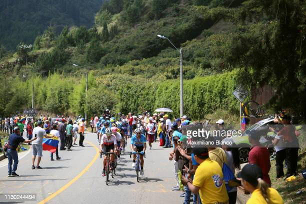 Peloton / Fans / Public / during the 2nd Tour of Colombia 2019 Stage 5 a 1772km stage from La Unión to La Unión / @TourColombiaUCI / Tour Colombia 21...