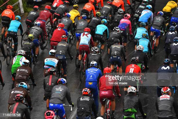 Peloton / Landscape / during the 102nd Giro d'Italia 2019, Stage 5 a 140km stage from Frascati to Terracina / Tour of Italy / #Giro / @giroditalia /...