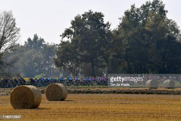 Peloton / Landscape / during the 103rd Giro del Piemonte 2019 a 183km race from Agliè to Santuario di Oropa - Biella 1142m / @GranPiemonte /...