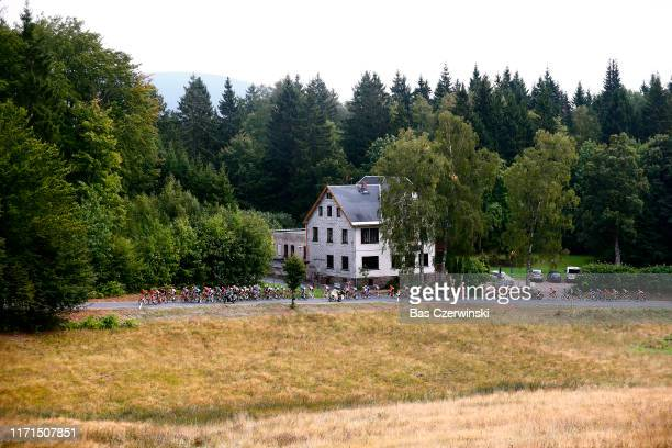 Peloton / Landscape / during the 34th Deutschland Tour 2019, Stage 4 a 159,9km stage from Eisenach to Erfurt / @DeineTour / #DeutschlandTour / on...
