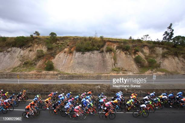 Peloton / Landscape / during the 3rd Tour of Colombia 2020, Stage 5 a 180,5km stage from Paipa to Zipaquirá / @TourColombiaUCI / #TourColombia2020 /...