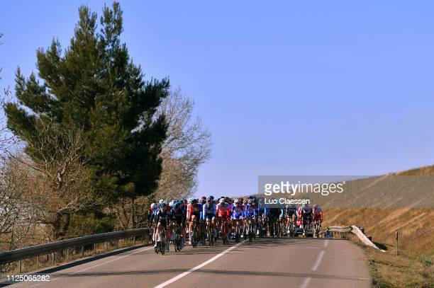 Peloton / Landscape / during the 4th Tour de La Provence 2019 Stage 2 a 1956km race from Istres to La Ciotat Boulevard Anatole France / TDLP /...