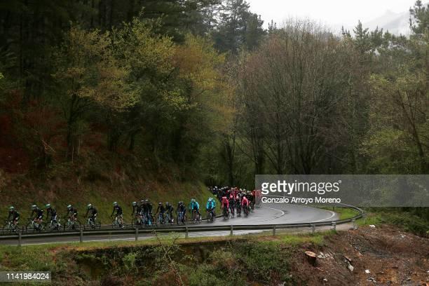 Peloton / Landscape / during the 59th Itzulia-Vuelta Ciclista Pais Vasco 2019, Stage 4 a 163,6km stage from Vitoria-Gasteiz to Arrigorriaga / VPV /...
