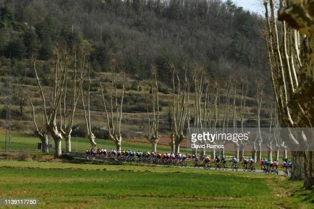 Peloton / Landscape / during the 99th Volta Ciclista a Catalunya 2019, Stage 5 a 188,1km stage from Puigcerdà to Sant Cugat del Vallès / VCC /...