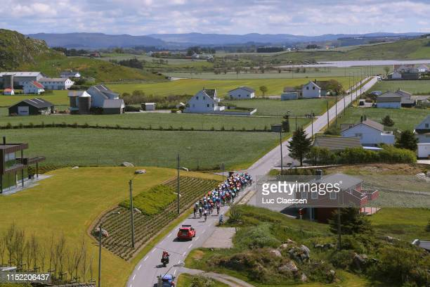 Peloton / Landscape / during the 9th Tour of Norway 2019 Stage 1 a 1682km stage from Stavanger to Egersund / @tourofnorway / #TourOfNorway / on May...