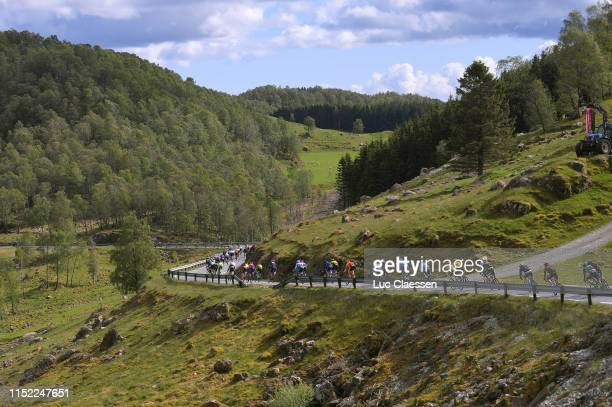 Peloton / Landscape / Mountains / during the 9th Tour of Norway 2019 Stage 1 a 1682km stage from Stavanger to Egersund / @tourofnorway /...