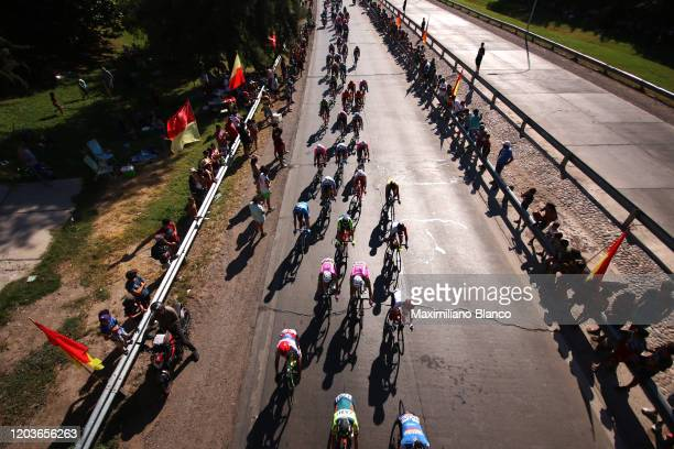 Peloton / Public / Fans / Landscape / 2during the 38th Vuelta a San Juan International 2020, Stage 7 a 141,3km stage from San Juan to San Juan /...