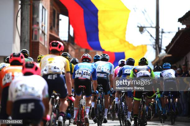 Peloton / Public / Fans / Village / Landscape / during the 2nd Tour of Colombia 2019 Stage 2 a 1505km stage from La Ceja to La Ceja /...