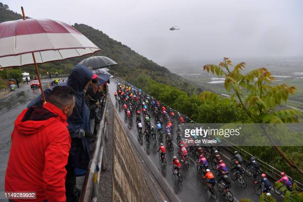 Peloton / Sezze / Landscape / Public / Fans / during the 102nd Giro d'Italia 2019, Stage 5 a 140km stage from Frascati to Terracina / Tour of Italy /...