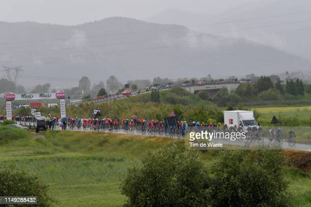 Peloton / Terracina Possedi / Landscape / during the 102nd Giro d'Italia 2019, Stage 5 a 140km stage from Frascati to Terracina / Tour of Italy /...