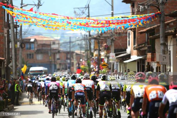 Peloton / Village / Landscape / during the 2nd Tour of Colombia 2019 Stage 2 a 1505km stage from La Ceja to La Ceja / @TourColombiaUCI / Tour...