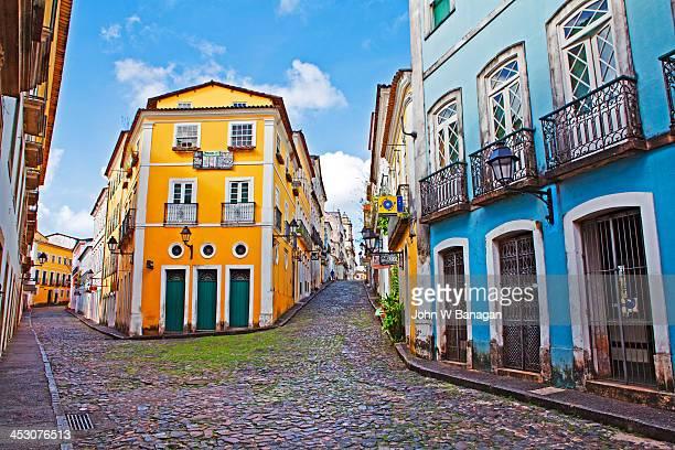 pelourinho district, salvador, brazil - バイア州 ストックフォトと画像