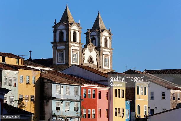 Pelourinho the historical center of Salvador and a UNESCO World Heritage site
