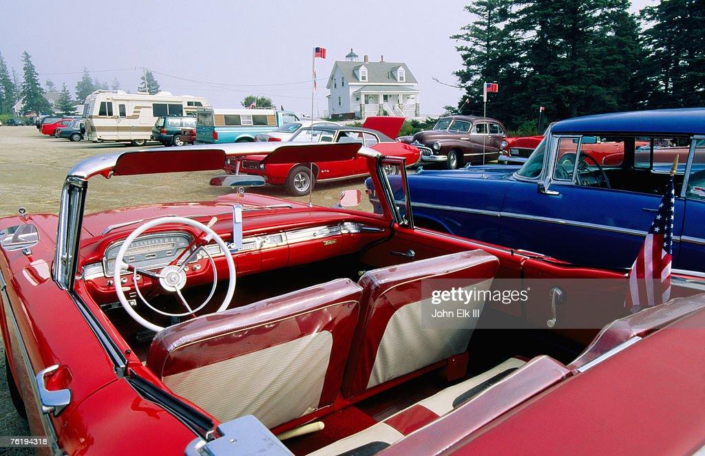 Pemaquid Point Classic Cars Maine United States Of America North ...
