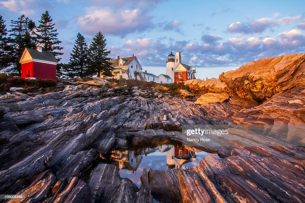 CONTENT] Pemaquid Point Light Was Built In 1827. The Light Station Is  Surrounded By