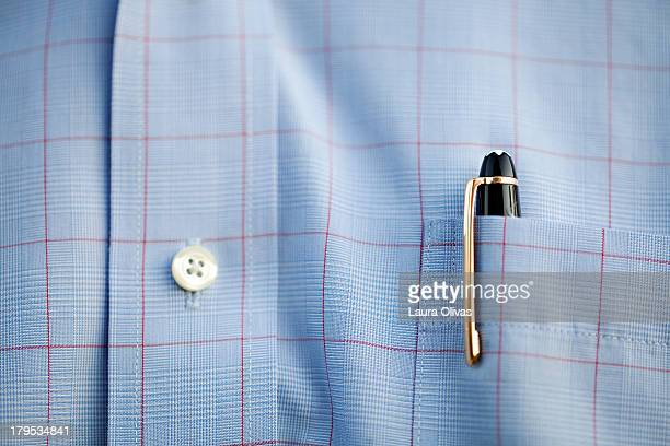 Pen In Shirt Pocket